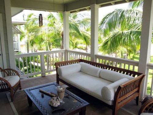 Screen porch decorating ideas dream house experience for Lanai deck