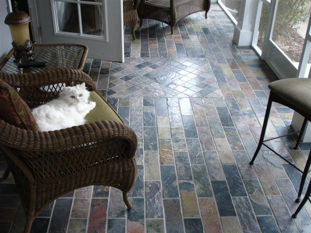 slate floors williams slate floor 4jpg - Slate Floors In Living Room