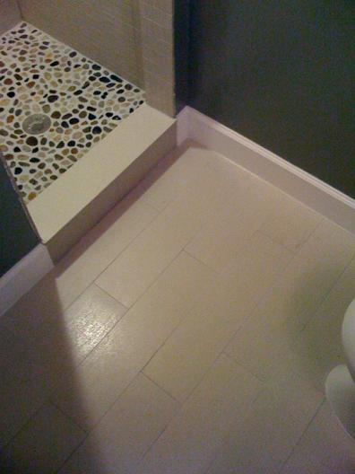 Bath Room Ceramic Flooring Looks Like Wood Kids Art Decorating Ideas
