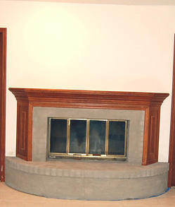 how should i decorate this fireplace granite floor ceiling how should i decorate my backyard for a black light rave party 249x293