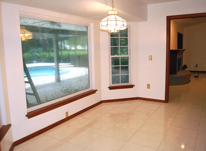 Need Help Choosing Window Treatment For Kitchen Floor