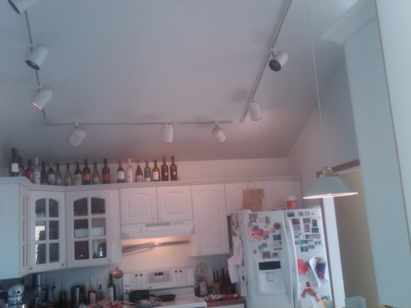 For Kitchen Ceilings Kitchen Needs Lighting Solution And Im Stumped Laminate