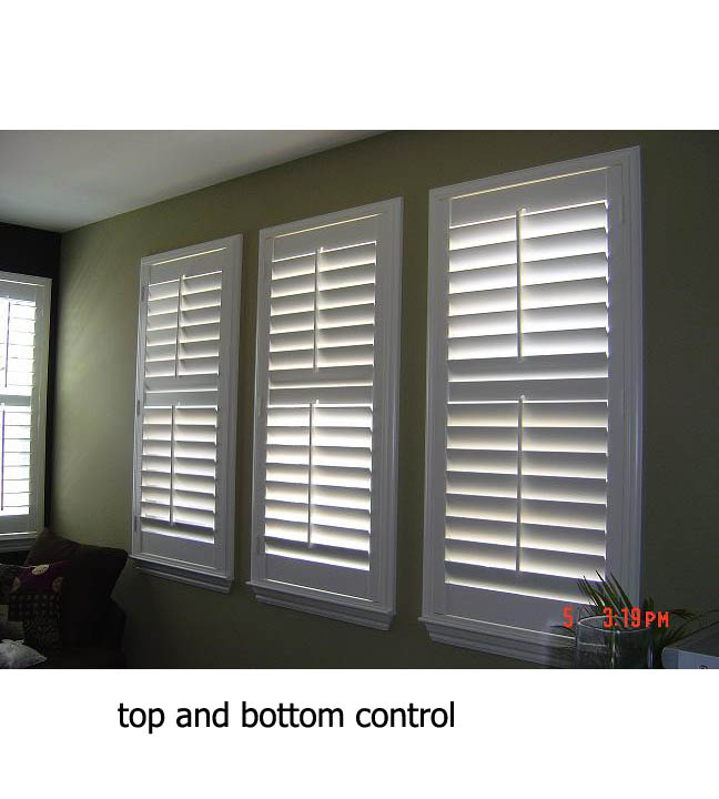 plantation shutters aesthetics