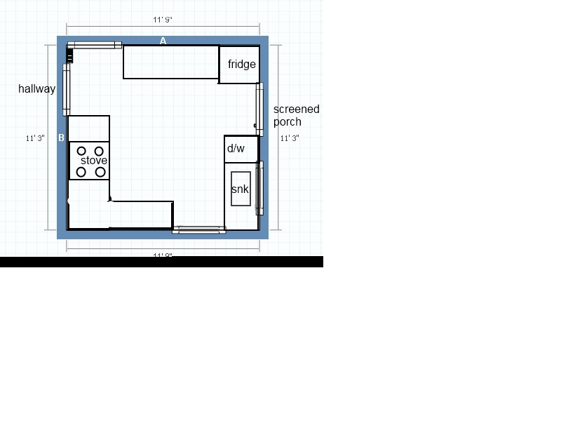 help with kitchen layout laminate floor panels counter