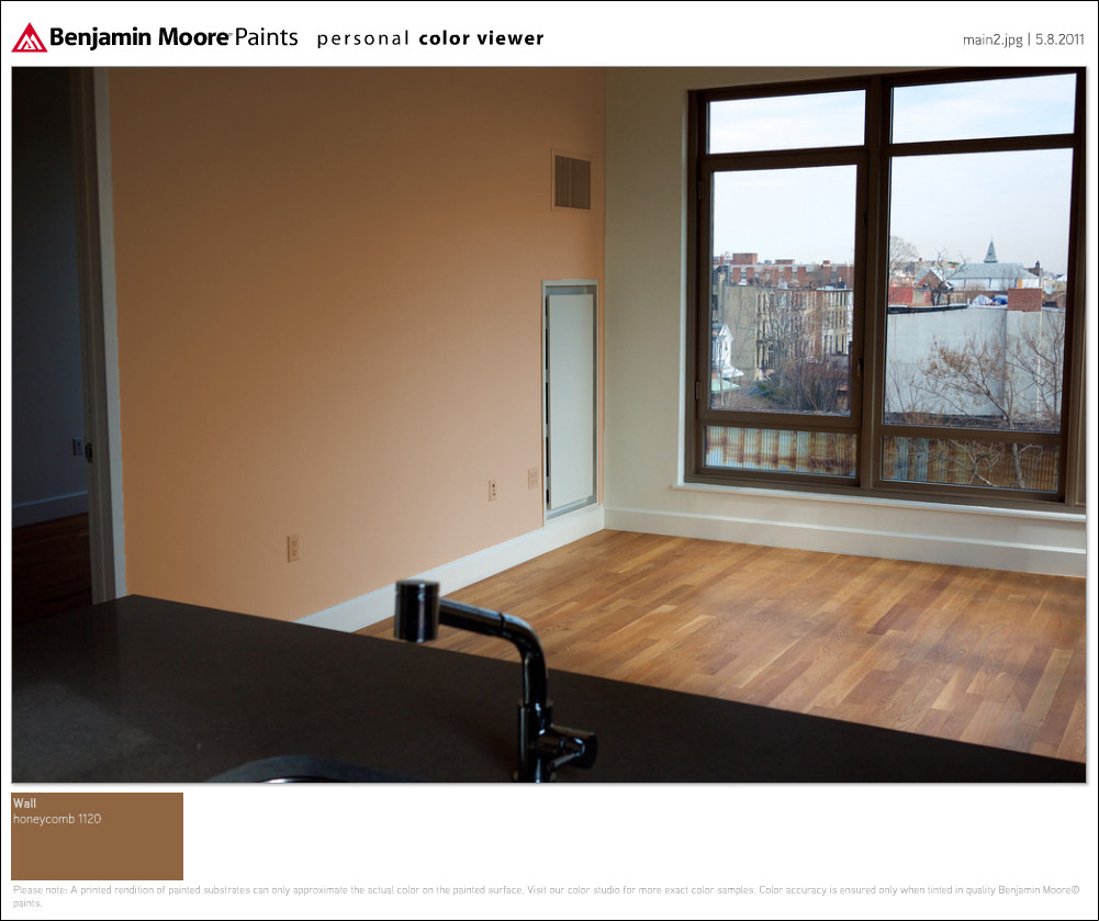 U Home Interior Design Forum: What Color Would You Go With? [Big Wall In Condo]