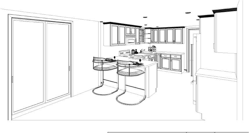 Kitchen Layout Drawings