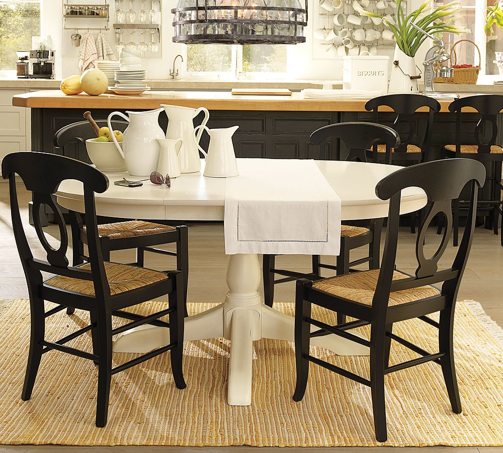This table and this chair matching stain colors paint for Best color for dining room table