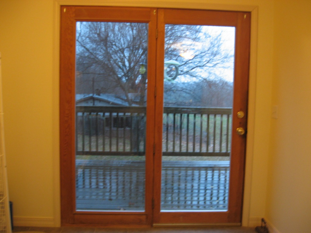 Window Treatment For Patio Door? Patio Door Compressed