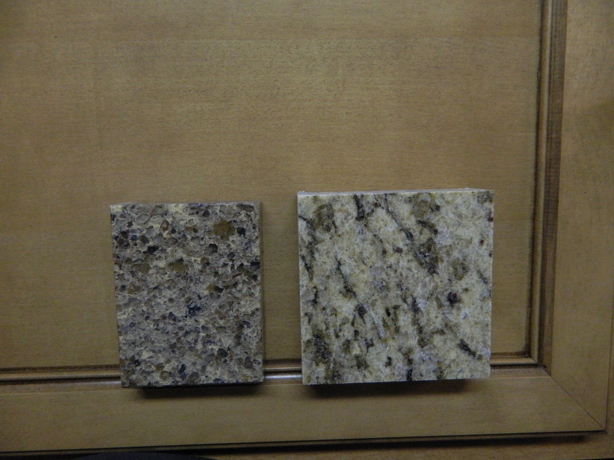 which one quartz or granite pic countertops tile