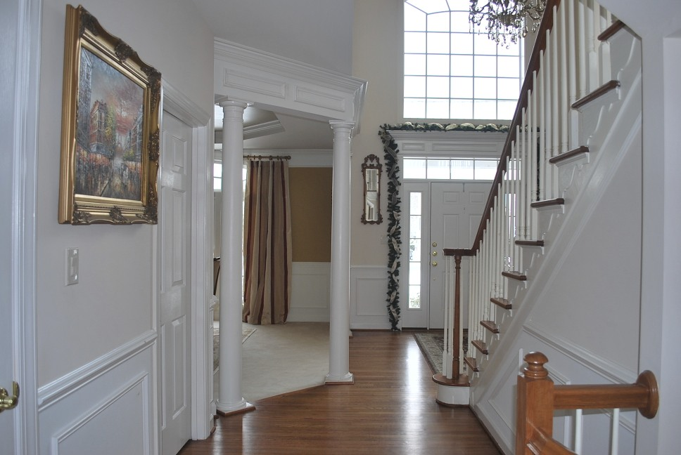 Open Foyer Designs : Help with paint in a story foyer an open floor plan