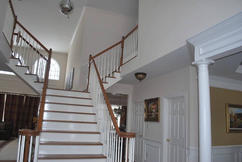 Two Story Foyer Paint : Help with paint in a story foyer an open floor plan