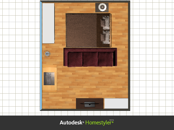 Studio apartment arrange furniture happy home arranging for Studio apartment furniture layout