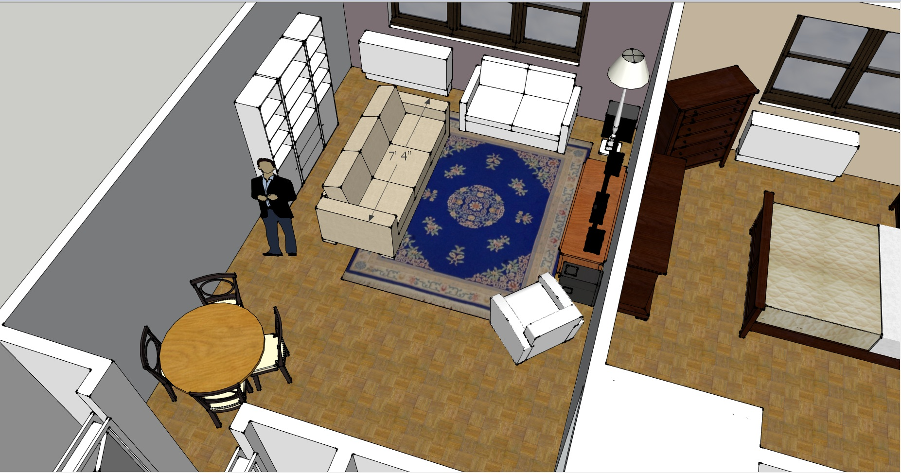 Help what to do with my living room design challenge for Large living room design layout