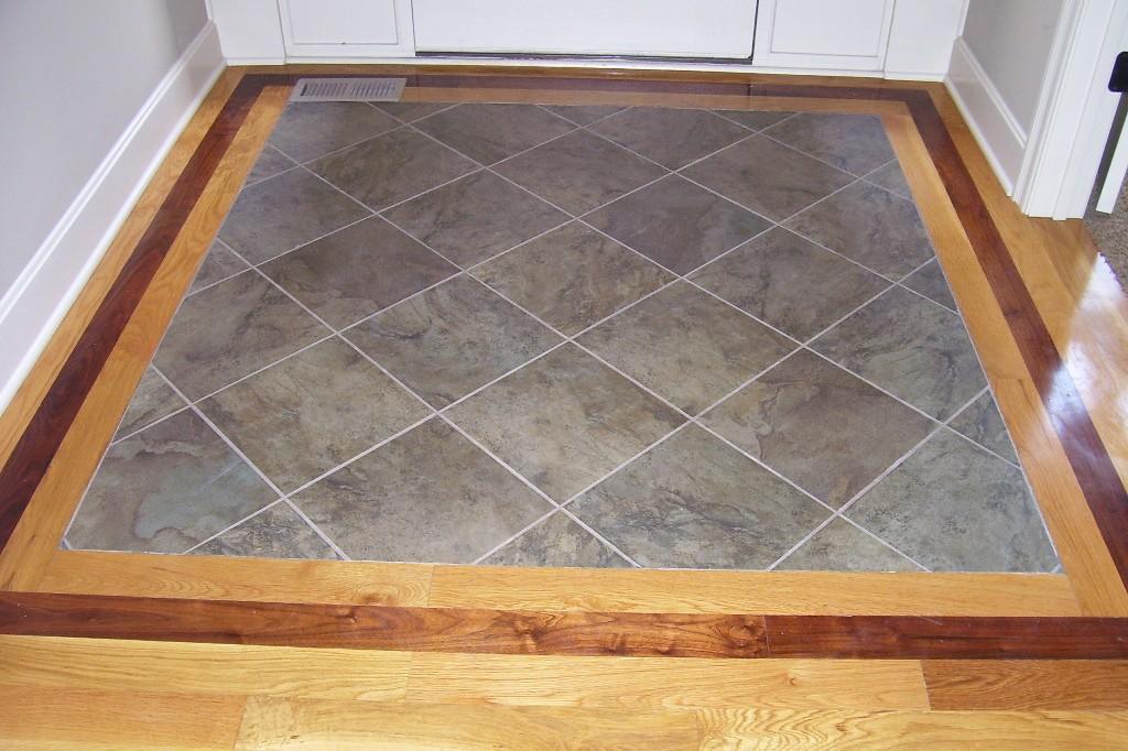 hardwood and tile floor designs foyer flooring tile or