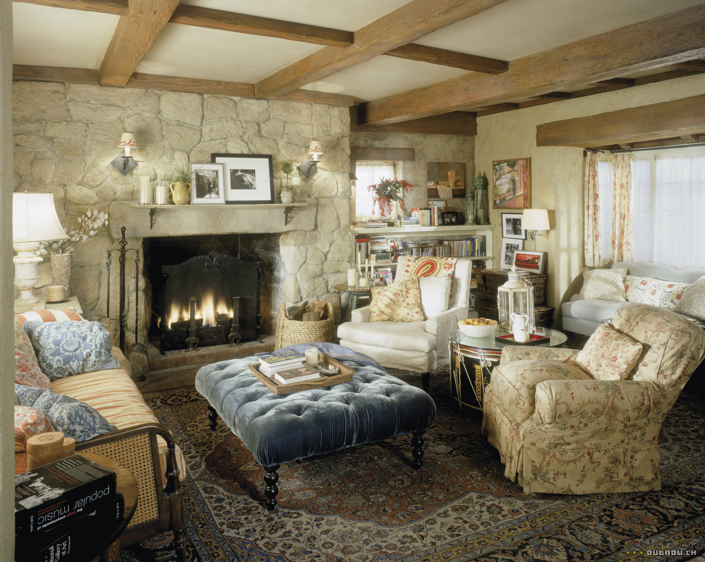Could these chairs work together pics fireplace ralph lauren photos living room home - Living room pics ...