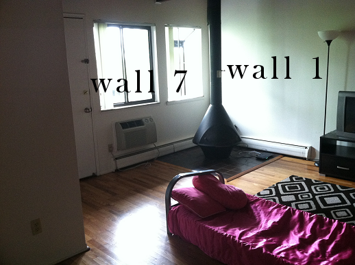 Need Help With Odd Shaped Apartment Living Room :( (paint