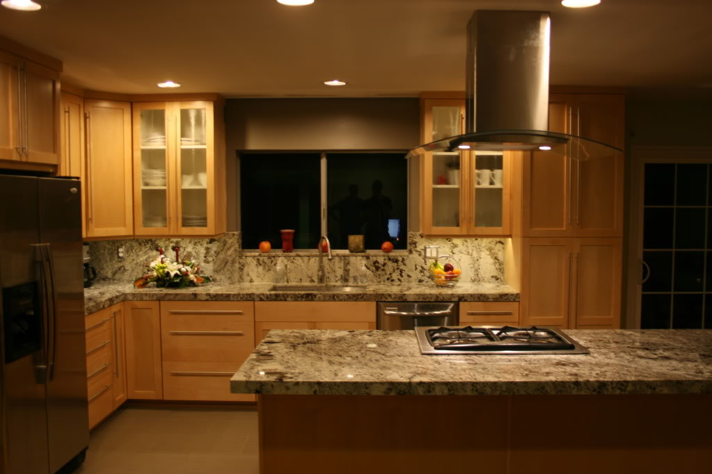Best Color Granite To Go With Natural Maple Cabinets