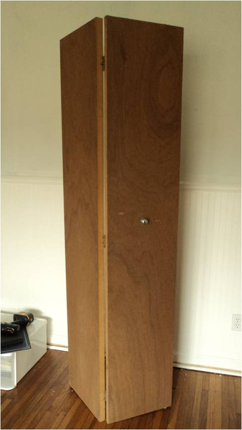 Possible To Stain Old (70s) Style Folding Closet Doors? Closet Door