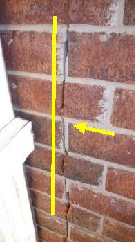Is This Crack Just A Cosmetic Or Structural Issue Foundation Interior Stair House