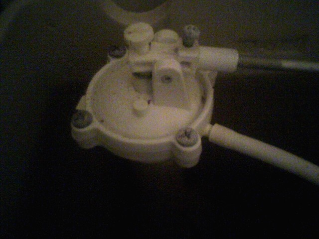 Went To Fix The Running Toilet In Bathroom And Now Water Shut Off Valve