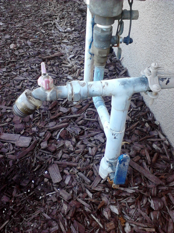 Leaking Outdoor Faucet: DIY-able or not? (washer, plumber, pipes ...