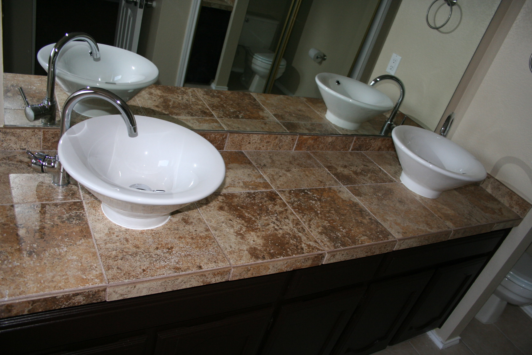 Rustoleum Countertop Paint Prep : Rust-Oleum Cabinet Transformations....any thougts? (how much, vinyl ...