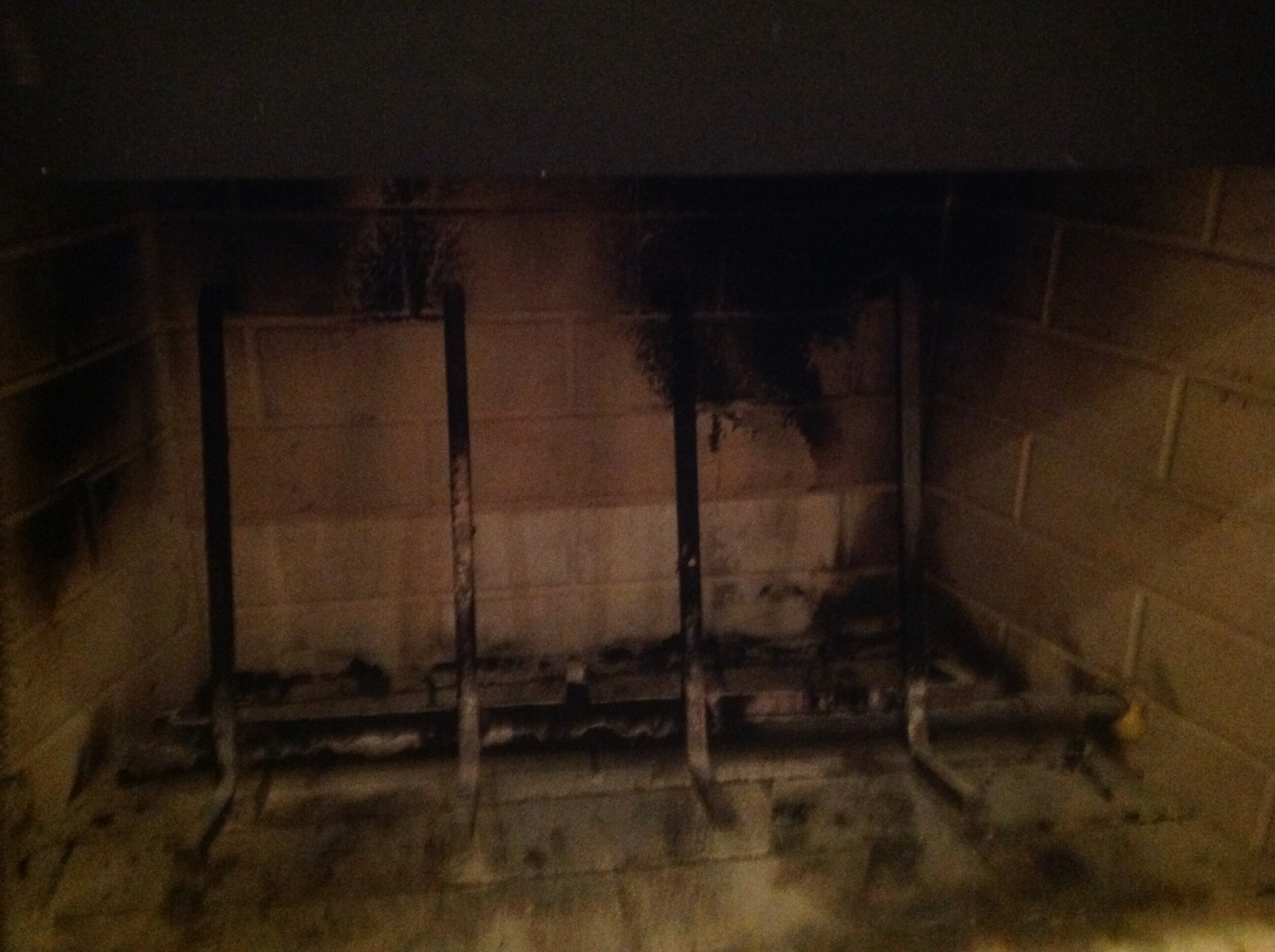 Fireplace with gas log but also burns wood???? (my fireplace, heat ...