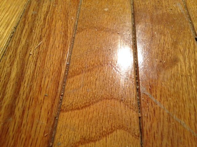refinishing hardwood floor with edge