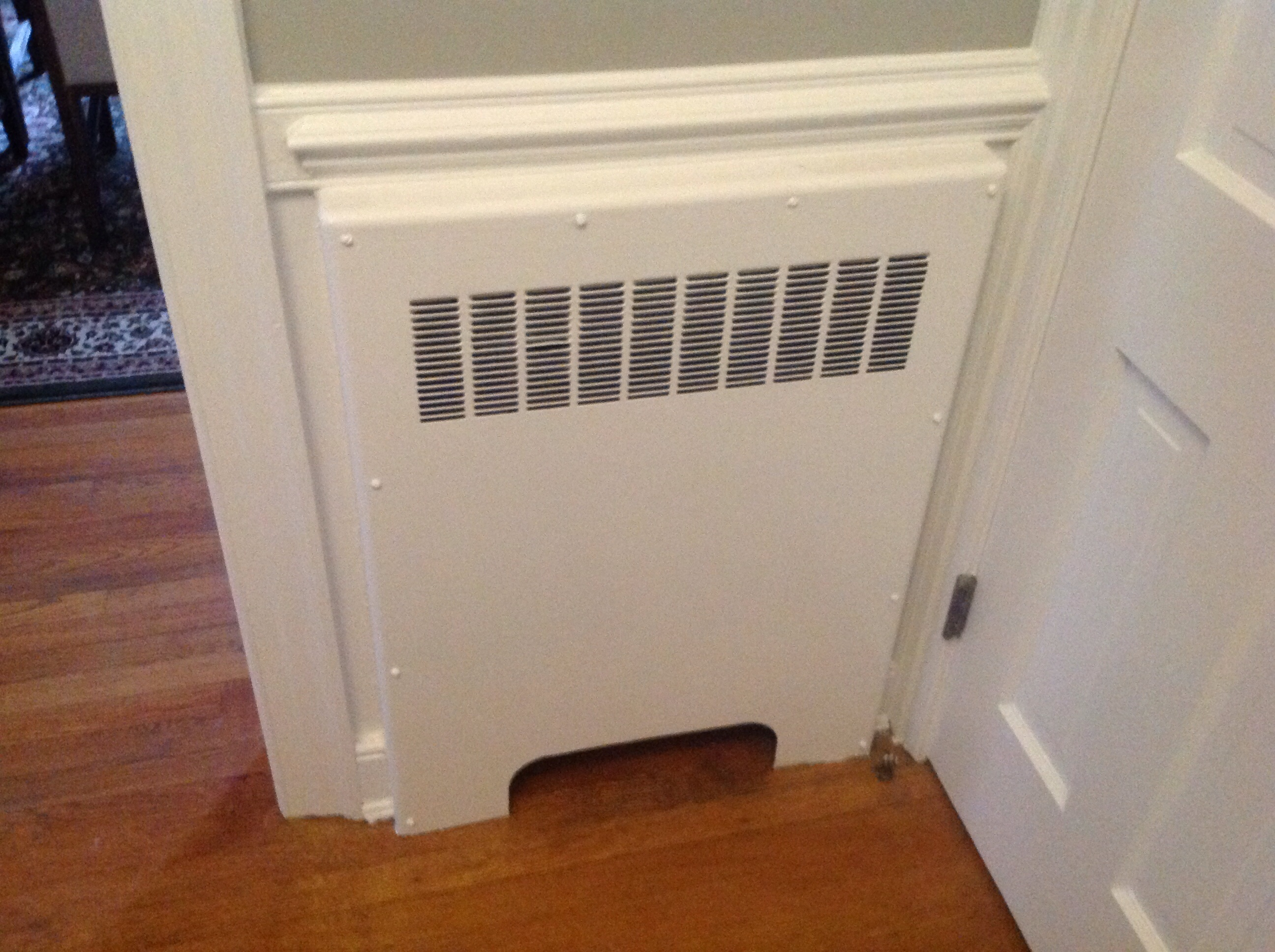 How do I turn down these types of radiators? (heat paint removing  #774023