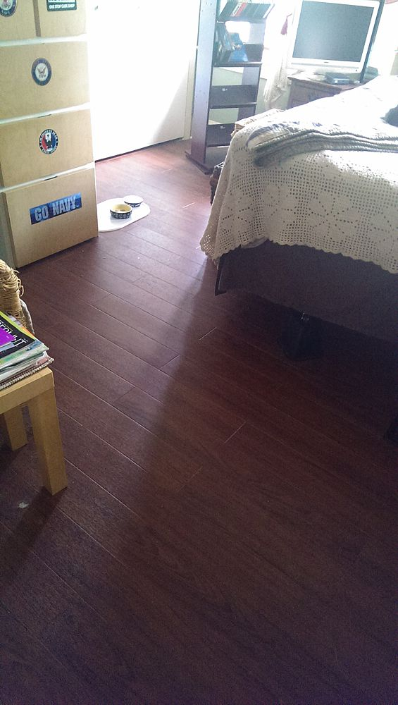 Luxury Vinyl Plank Wood Floors Heating Refinish Install House
