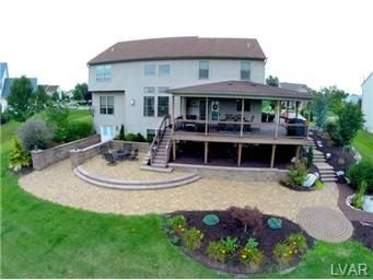 How much for this deck and patio (roofing, vinyl, Lowes) - House ...