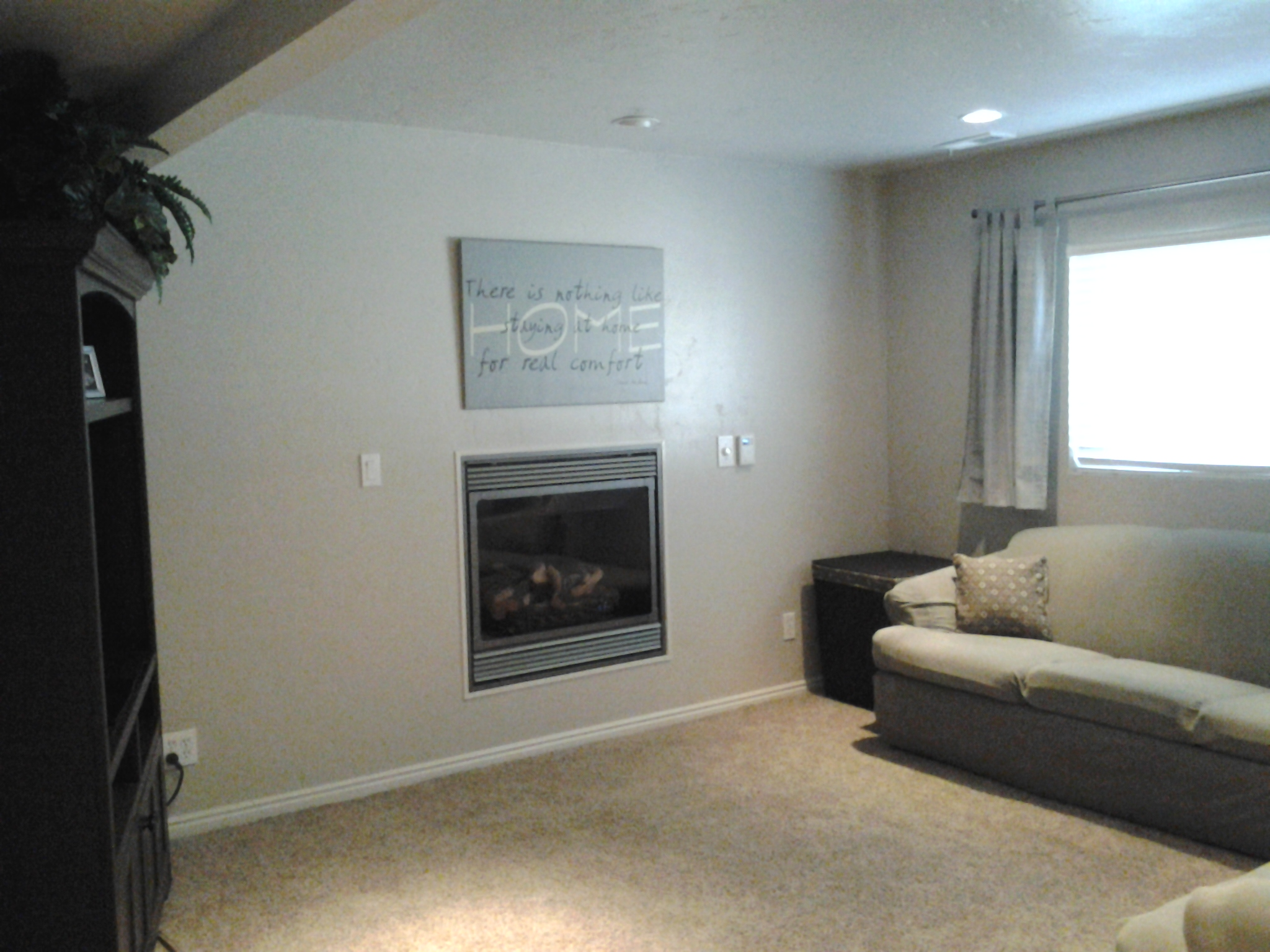 Opinions of big screen tv above a fireplace ceiling