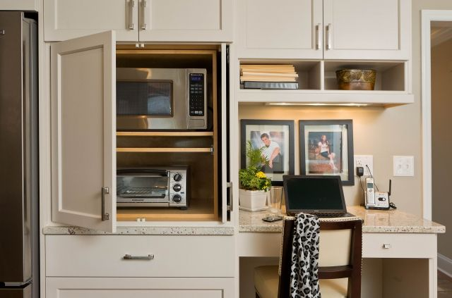 Remodel Kitchen Without A Conventional Oven Replaced By