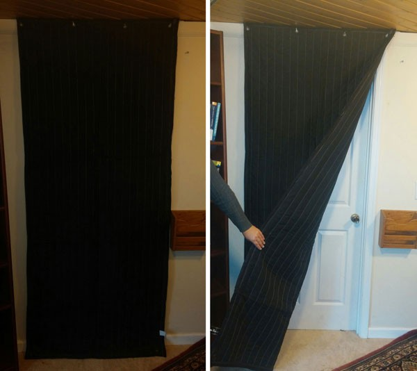 Lovely Soundproofing Door Door Cover 600