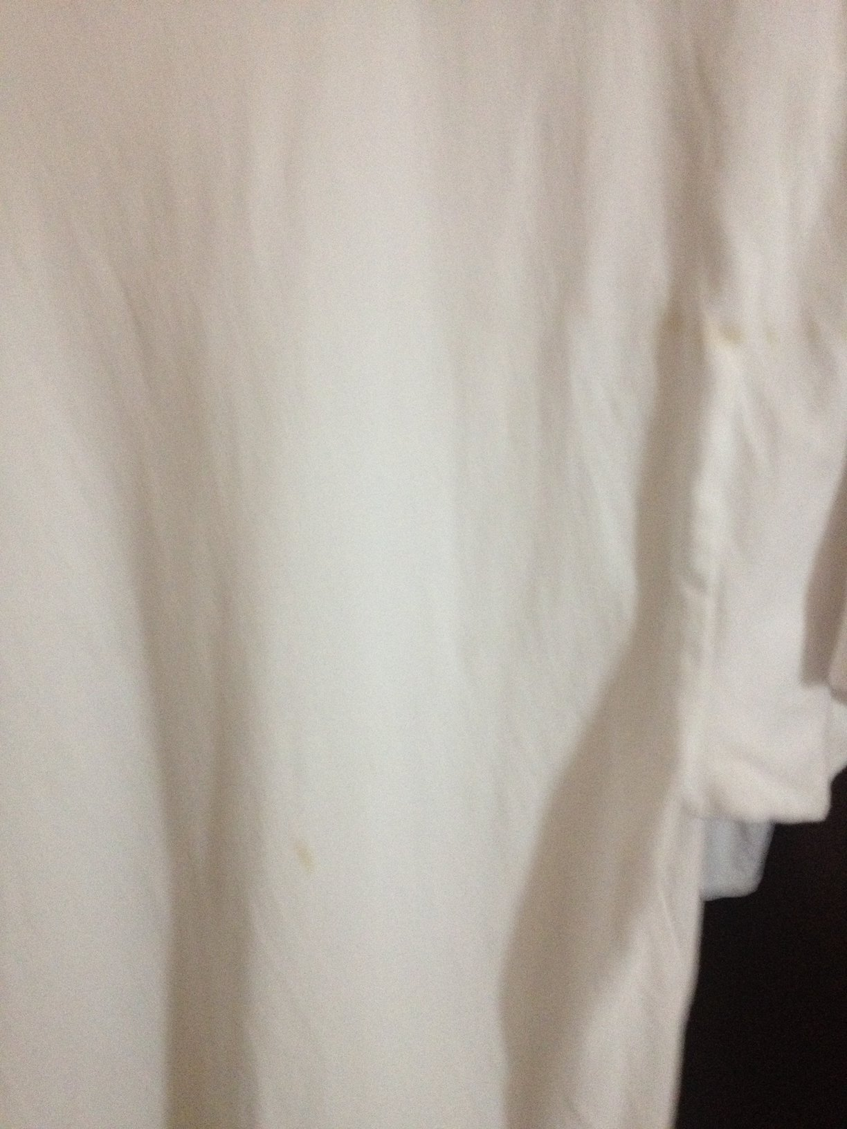 how to clean coffee stain on white shirt