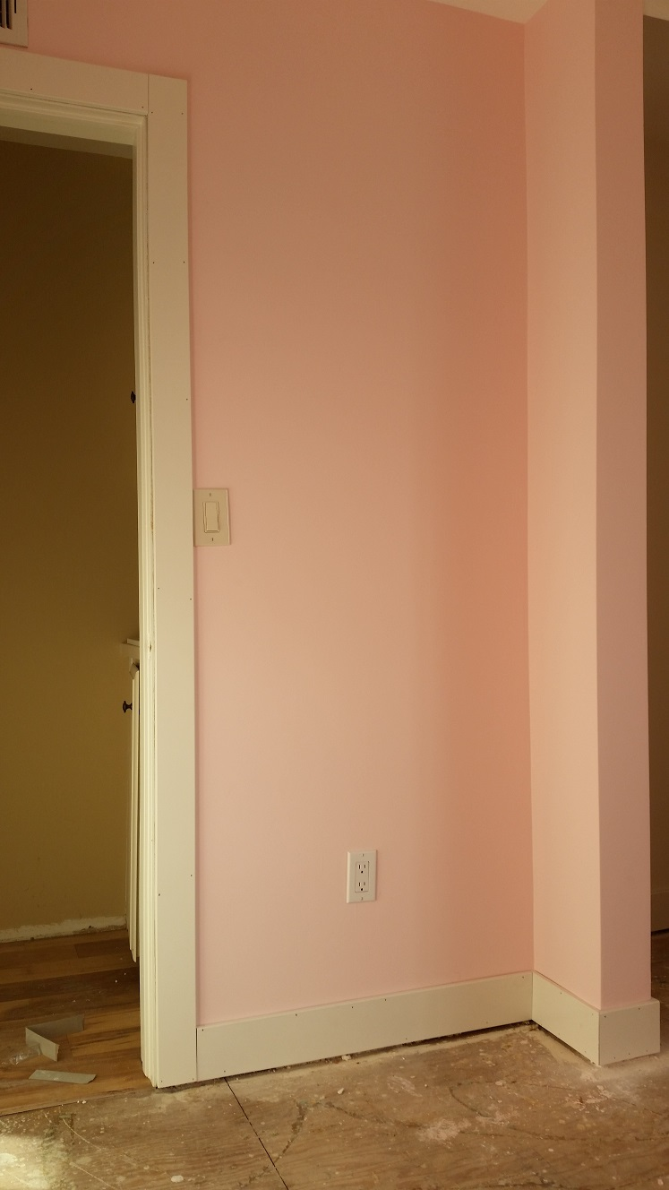 How to install baseboards over carpet - Install Baseboards Or Carpet First