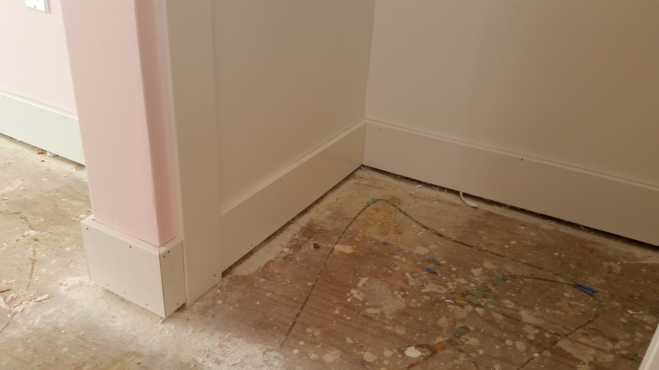 How to install baseboards over carpet - Baseboards 1 Jpg Install Baseboards Or Carpet First