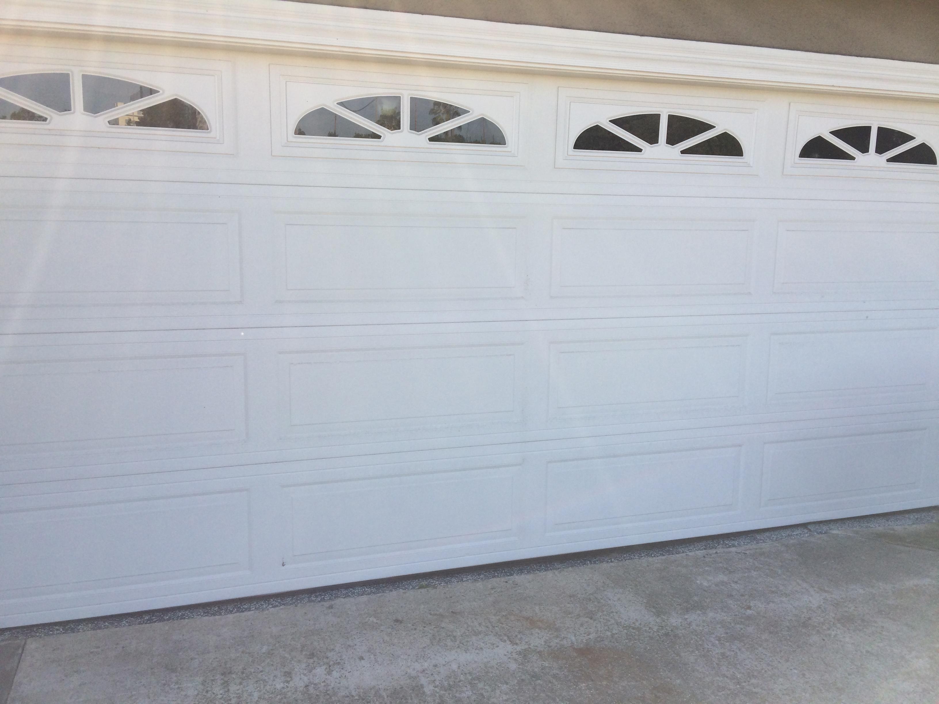 How Should I Level An Uneven Epoxy Garage Door Threshold