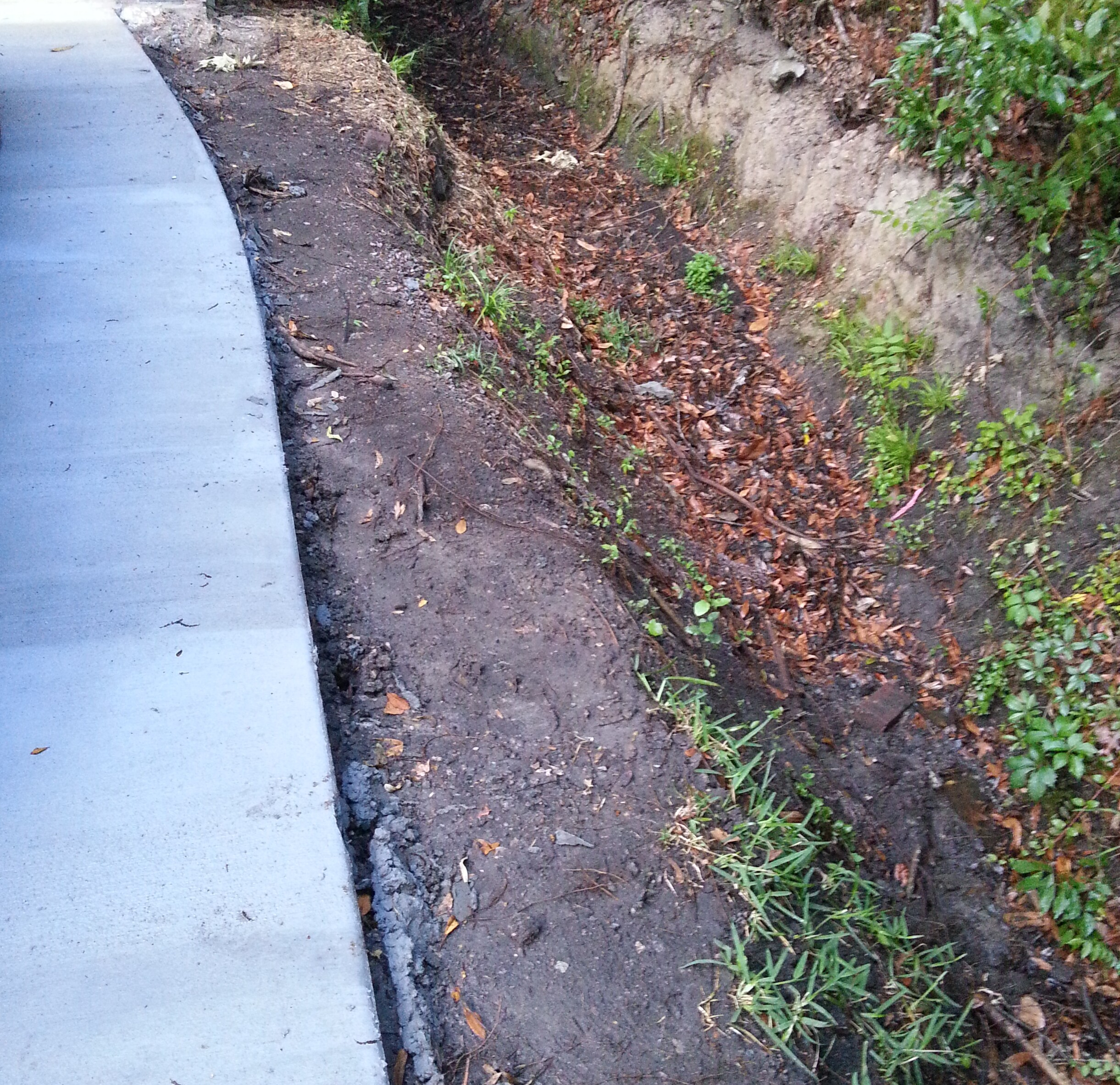 driveway water runoff problem drain installing pipe