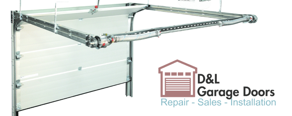 low clearance garage doorGarage door torsion spring can be installed at back instead of