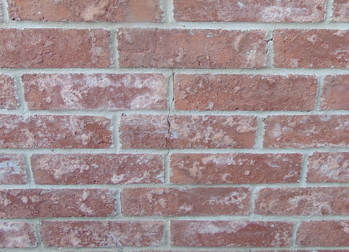 Step Cracks On Brick Wall House Settlement Or Foundation Issue Color Ceiling Remodeling