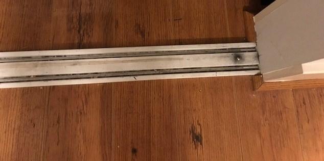 Sliding Aluminum Closet Doors Rattling Air Conditioner Heater