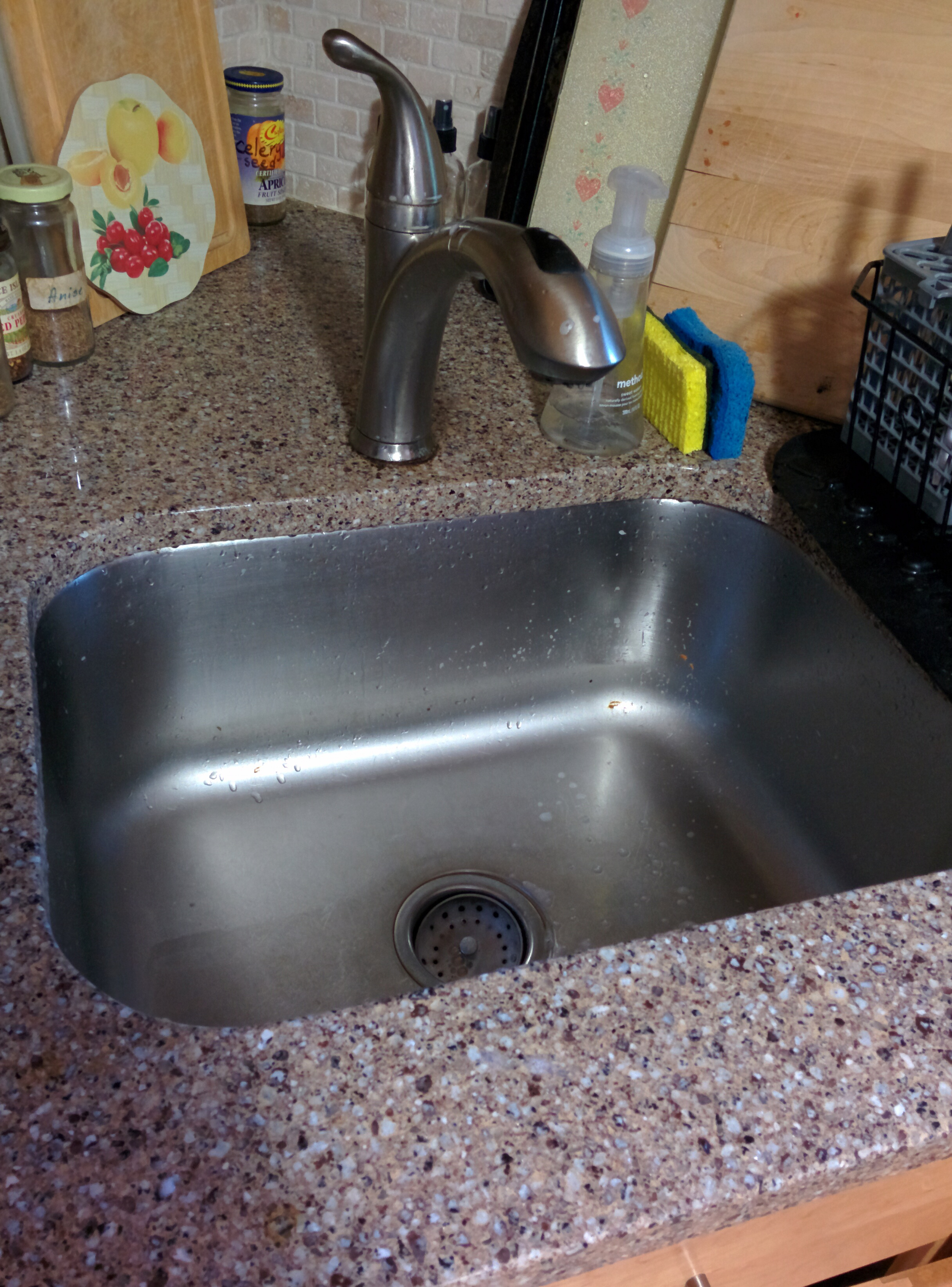 Replace Kitchen Faucet Need To Remove Whole Countertop