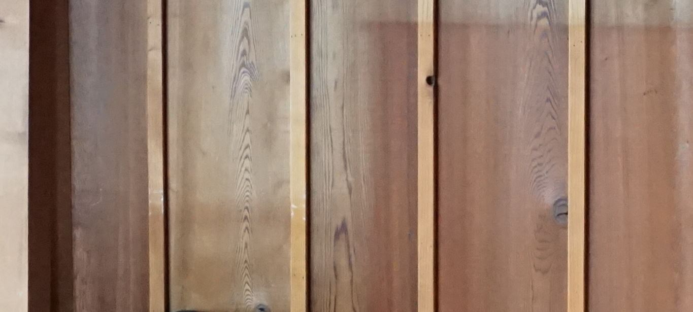 Replace wood panel wall with sheetrock-wall2.jpg - Good Idea? Replace Wood Panel Wall With Sheetrock (vac, Color