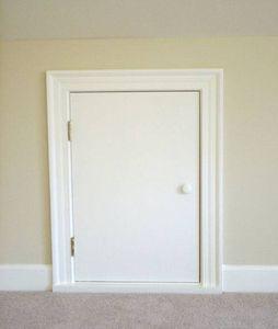 Knee Wall Access Door Floor Windows Insulating Paint