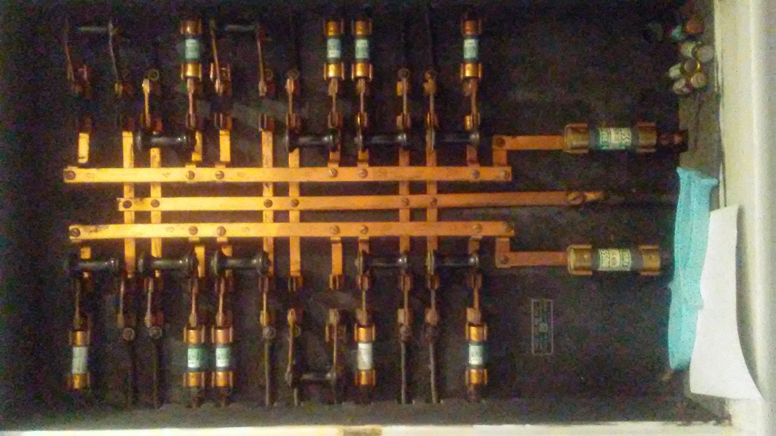 My home was built in 1928. I count 75 lights and 27 wall outlets that still  go though a fusebox that has knife switches. While it seems incredibly old  ...