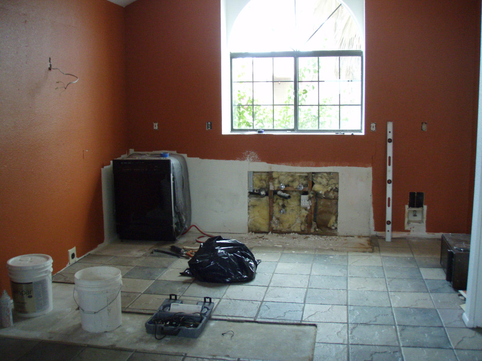 Peel And Stick Tile Ash And Orange The Importance Of A Properly - Unlevel basement floor