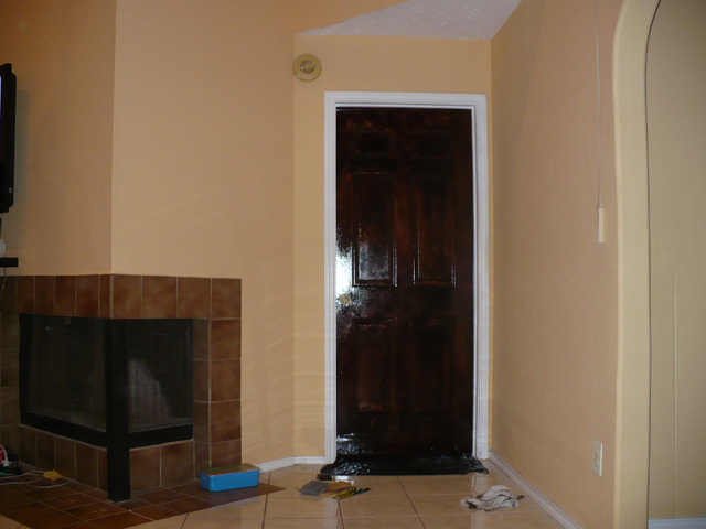 ... Staining Doors-bedroomdoor.jpg & Staining Doors (hardwood floors laminate color master bedroom ...