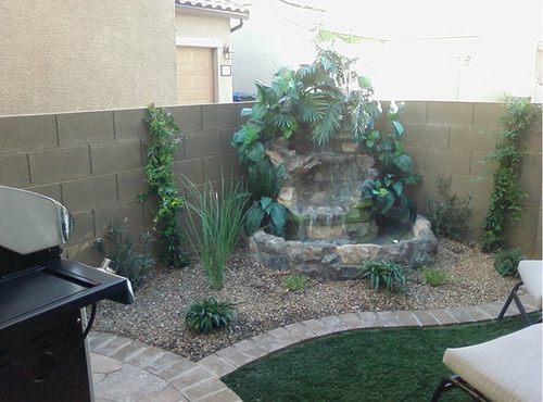 Backyard Water Feature!!!!! (how much, kitchen, worth, pump ...