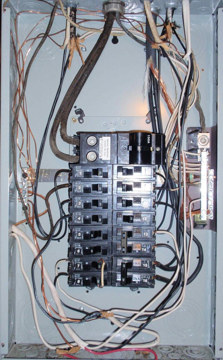 Is This 100a or 150a Service? (install, insulation, light ...